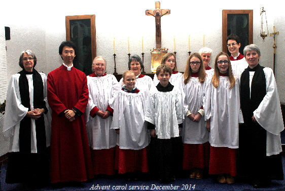 14 12 Choir + Clergy + DOM b